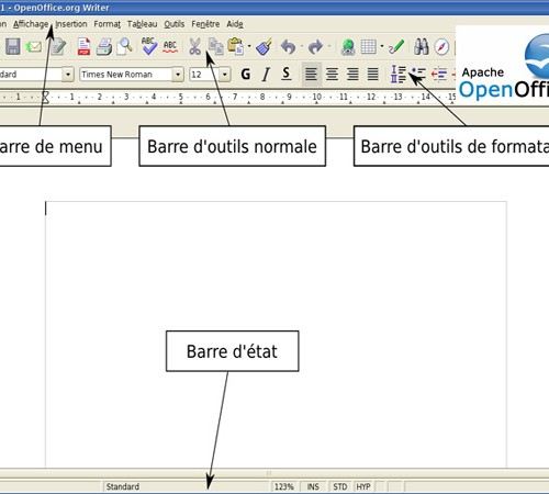 Open Office Writer Dans La Box